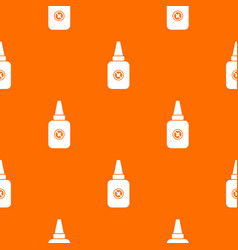 insect spray pattern seamless vector image