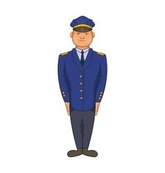 Policemen icon in cartoon style vector image