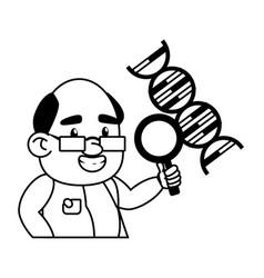Scientific laboratory science vector
