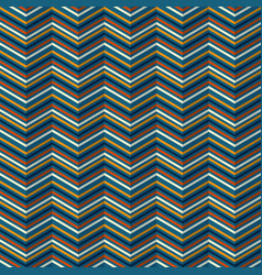 Zigzag pattern with rippled effect vector
