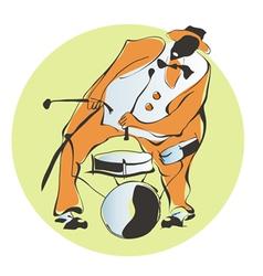 percussion vector image