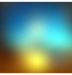 Blurred gradient background vector image