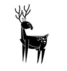cute deer icon image vector image vector image