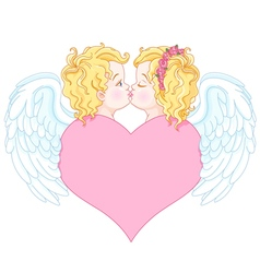 Angels in Love vector image