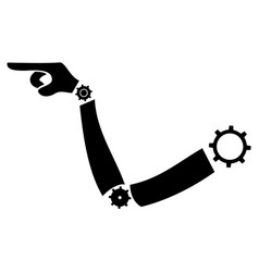 Arm machine point vector