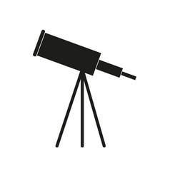 astronomy black icon vector image