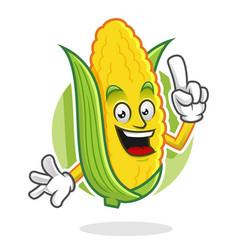 Got an idea corn mascot corn character corn vector