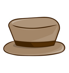 Hat isolated vector