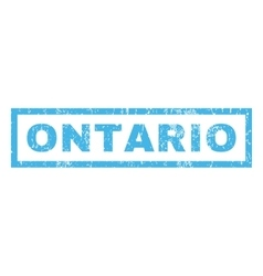 Ontario Rubber Stamp vector