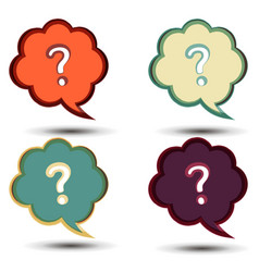 question mark icon symbol sign background concept vector image