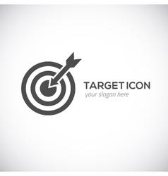 Target icon Logo concept vector image