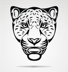 Jaguar Head vector image vector image