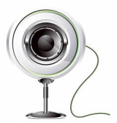 loudspeaker icon vector image vector image