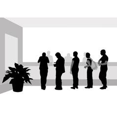 bank line vector image vector image