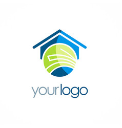 house education school logo vector image