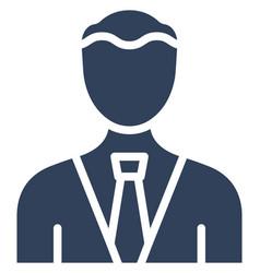 Businessman icon which can easily modify o vector