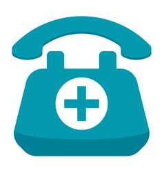 Doctor on call concept vector