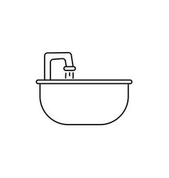 Sink icon vector
