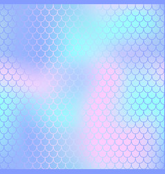fish scale pattern with pastel color mesh vector image vector image