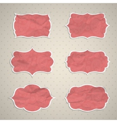 Frames in the Indian style vector image vector image