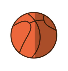 Basket ball cartoon vector