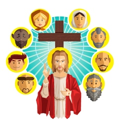 All saints day vector