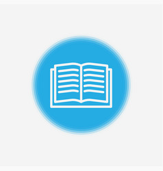 book icon sign symbol vector image