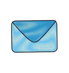 Envelope paper blank vector