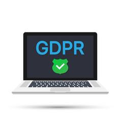 General data protection regulation - gdpr vector