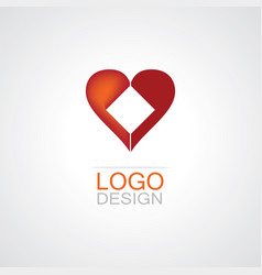 Hearth logo vector