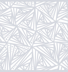 seamless light geometric pattern vector image