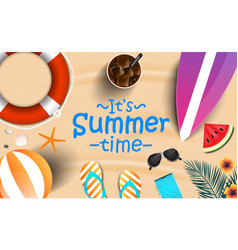 summer background design 2019 2 vector image