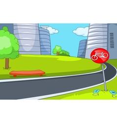 City Cartoon vector image