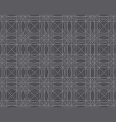 line geometry seamless pattern vector image vector image
