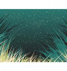 nightgrass vector image vector image