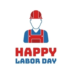 Labor day Holiday in United States celebrated on vector image