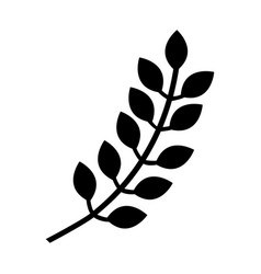 spike natural isolated icon vector image vector image