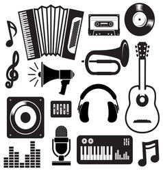 Muzika elementi2 vector