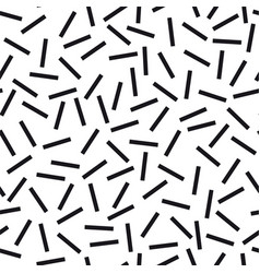 black and white geometric seamless abstract vector image