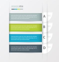 Curve Modern infographics banner vector