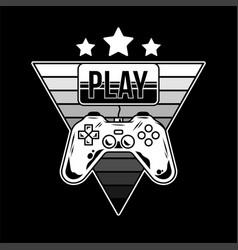 Game apparel design vector