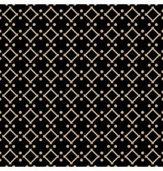 Golden line pattern on dark background vector