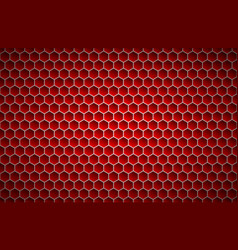 red geometric polygons background abstract vector image