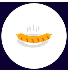 Sausage computer symbol vector