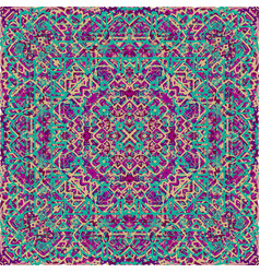 Vintage seamless pattern in arabic style vector