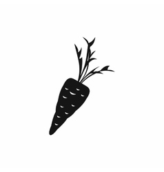 Carrot icon in simple style vector image vector image