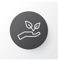 protect nature icon symbol premium quality vector image