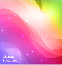 Bright spectrum background vector image vector image