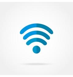 Icon Wi fi vector