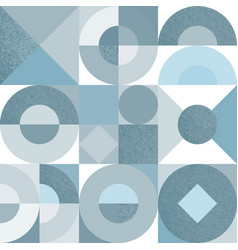 seamless pattern with monochrome geometric vector image